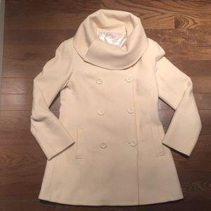 Ben Sherman Cowl-neck Wool Coat